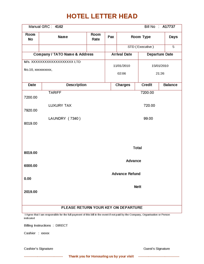 Blank Sales Invoice Pdf Download Invoice Template Hotel Billing  Rabitahnet Free Blank Invoice Excel with Receipt Notice Uscis Excel Bill Book Sample  Doc  Mittnastalivtk Invoice Examples Basic Invoice Word
