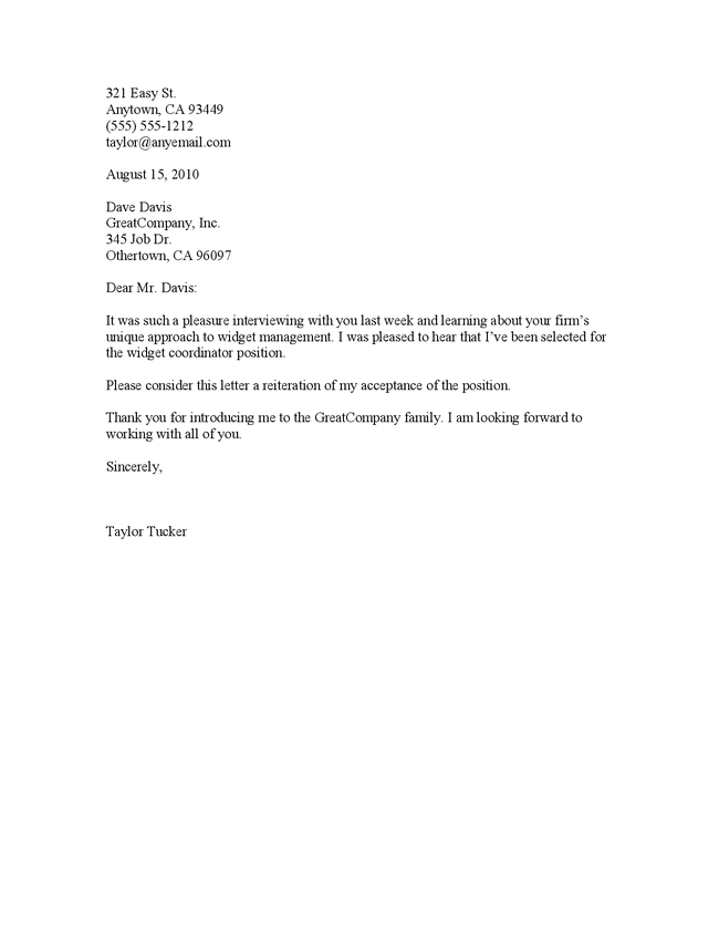 thank you letter job offer acceptance job offer acceptance thank – Thank You Letter for Job Offer