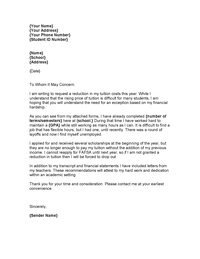 discount letter request template .