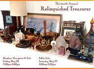 Donate to the Relinquished Treasures sale