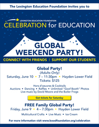 LEF's Global Party Weekend