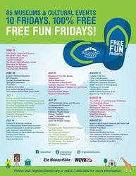 Free Fun Fridays All Summer Long
