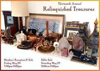 Relinquished Treasures Public Sale