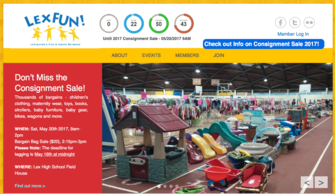 LexFUN!'s Award-Winning Consignment Sale  Saturday, May 20, 2017
