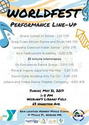 WorldFest in Woburn, Sunday May 21