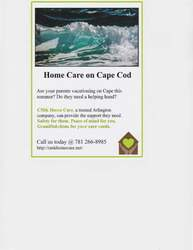 Home Care on Cape Cod