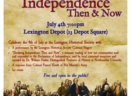 Declaring Independence Then and Now
