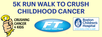 5K RUN WALK TO CRUSH CHILDHOOD CANCER Sept. 16th
