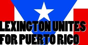 Lexington Unites for Puerto Rico