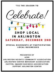 Discounts in Arlington shops Dec. 2nd