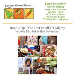 Lexington Farmers' Market Small Yet Mighty Winter Market