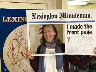 Who's your Minuteman Editor? Meet Heather Beasley Doyle on 2/1/18 at 4-7 PM