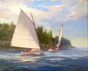 Lexington Arts and Crafts Society Painters Guild presents:  Maris Platais, Nautical Landscape in Acrylic, A Demonstration