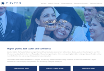 Chyten SAT Test Prep and College Applications