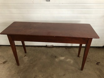 "wooden table 4'x14"" FREE"