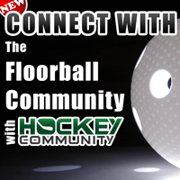 Connect with the FLOORBALL Community with Hockey community