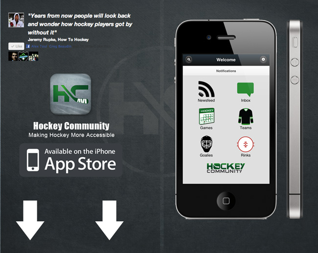 Hockey iPhone App