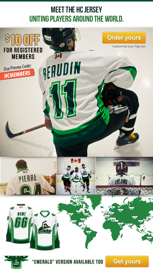 Be awesome, join the Hockey Community around the world.