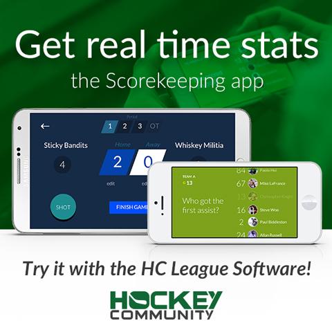 Hockey Community league software