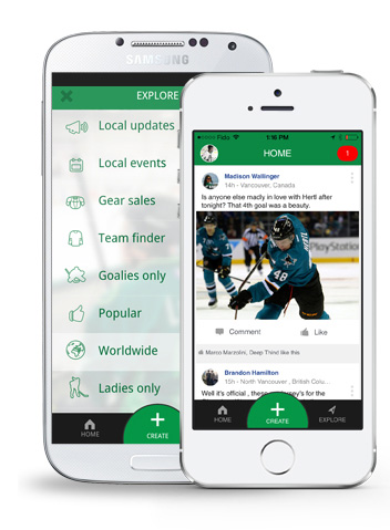 Hockey Mobile Apps