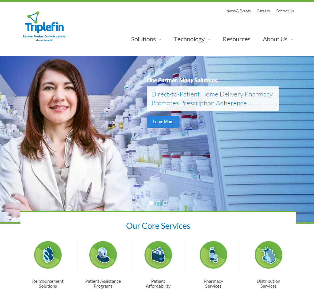 Triplefin Launches New Responsive Website - Improving The Customer Experience
