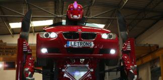 Letvision Adlı Yerli Firmadan Antimon İsimli - Transformers' ın Gerçeğe Dönüşmüş Hali