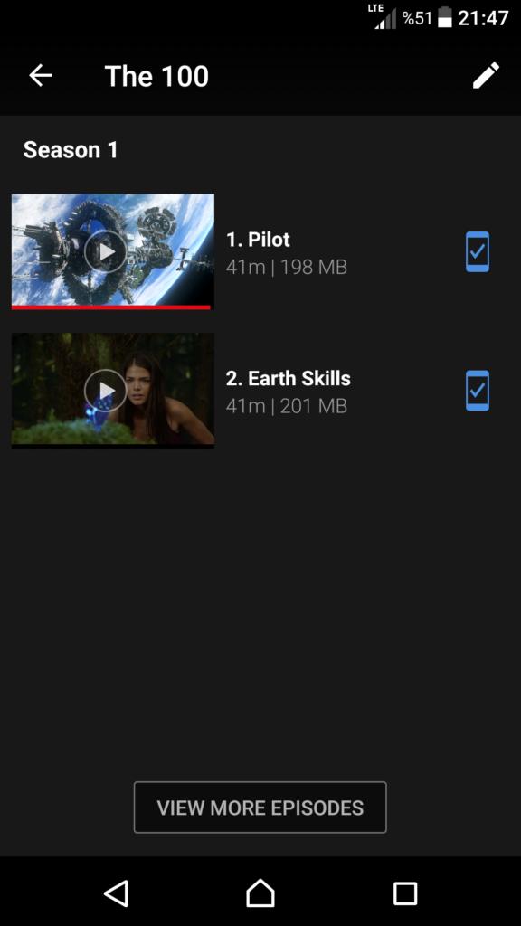Netflix dizilerin ne kadar yer kapladığı