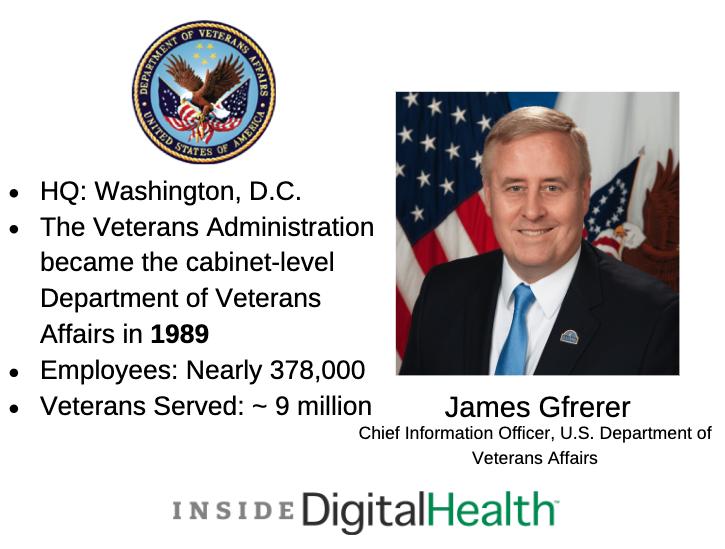 James Gfrerer, Veterans Affairs