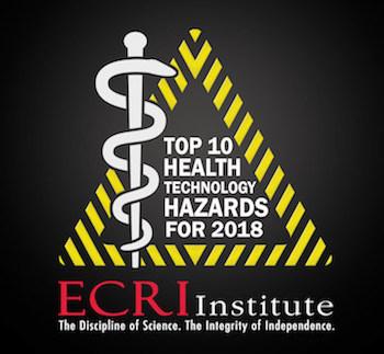 ecri,health technology hazards,health care analytics news,david jamison