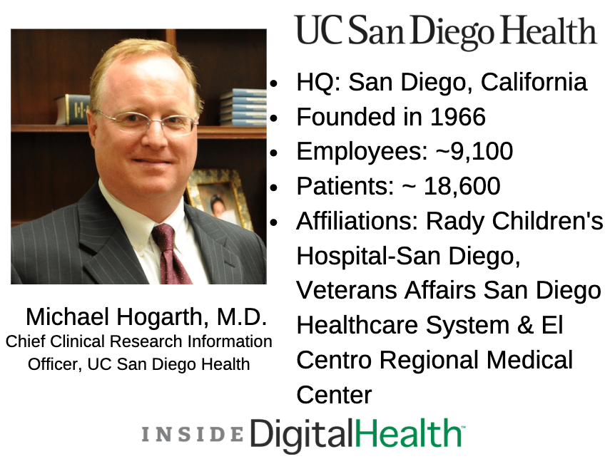 michael hogarth, m.d.