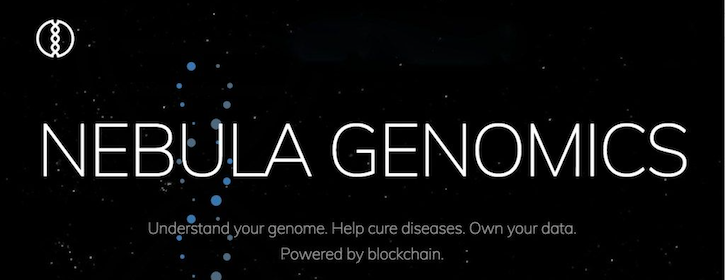 nebula genomics,genomic data blockchain,george church nebula,hca news