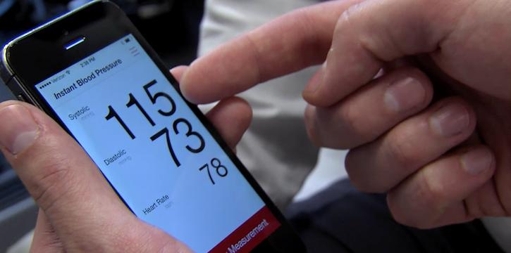 instant blood pressure app, blood pressure app, app blood pressure, check blood pressure app