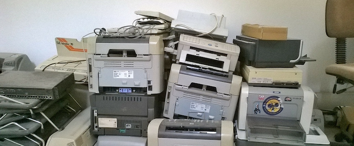 printer cybersecurity,overlooked network vulnerabilities,improve printer security,hca news