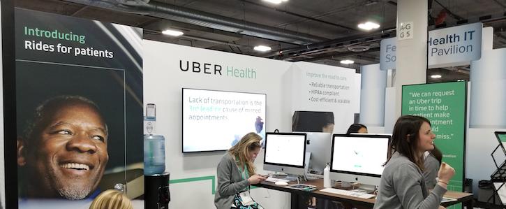 uber health,uber patient,uber hipaa,hca news