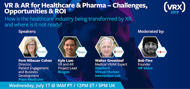 vr webinar,vr healthcare,virtual reality healthcare,vrx