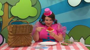 Vidéo - Miss Topé, pique-nique : Melon d'eau
