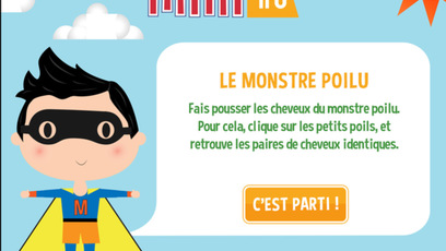 Site web - Le monstre poilu