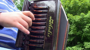 Vidéo - Benjamin : L'accordéon