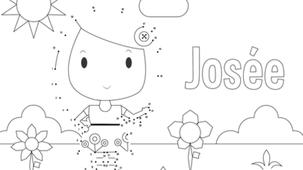 Coloriage - Josée
