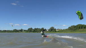 Vidéo - Louis - le kite sur l'eau