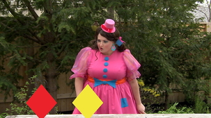 Vidéo - Miss Topé fait des suites: Losange, couleur