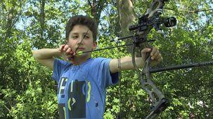 Vidéo - Michaël - le tir à l'arc