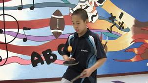 Vidéo - Vincent : Le ping-pong
