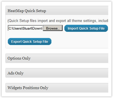 HeatMap Theme Pro v5 Import and Export plugin