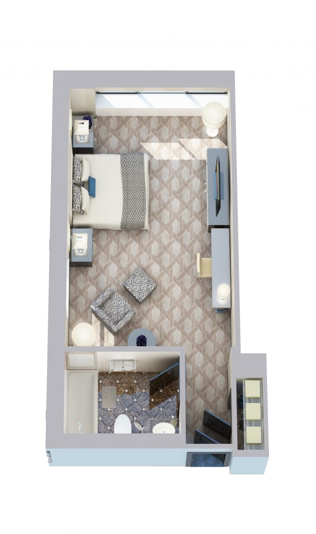 Cathedral View - King - 360 sq ft