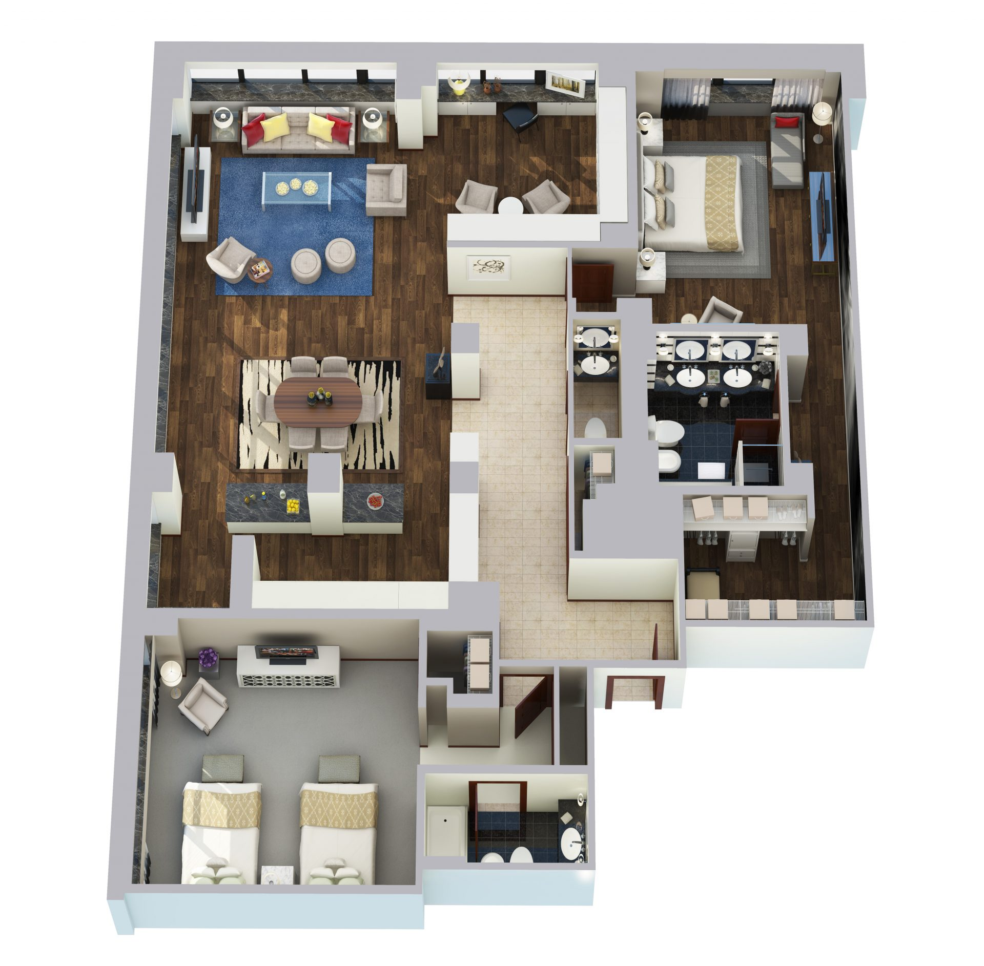 Metropolitan Suite - 2500 sq ft