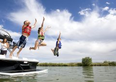 See the Lake and have fun all day from the back of a pontoon