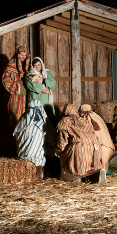 Live Nativity at the Heart of Lanier Islands Winter Adventure 2016