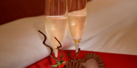 Champage and Chocolate