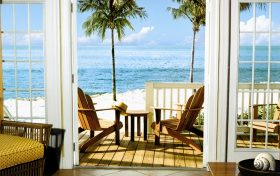 Florida Keys Beachfront Porch